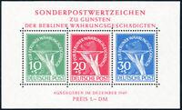 BERLIN 1949, Block 1, postfrisch, gepr. Schlegel, Mi. 950,-