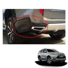 Mitsubishi Pajero Montero Sport Rear Bumper Black + Exhaust Tip Chrome fit 16 17