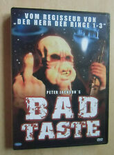 DVD Peter Jackson's Bad Taste  FSK 18 neuwertige Erhaltung