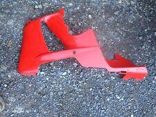 honda cbr929rr left lower fairing plastic red great shape bodywork
