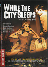 While the City Sleeps (1956) DVD, NEW!! Dana Andrews, Rhonda Fleming, Fritz Lang