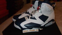 2012 NIke Air Jordan Retro VI 6 Olympic US 7 8 9 10 11 11.5 12 13 14 15
