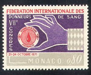 Monaco 1971 Blood Donors/Medical/Health/Welfare/Hand/Donation 1v (n39502)