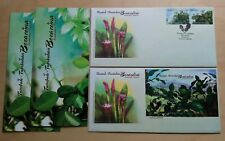2012 Malaysia Aromatic Plants 2v Stamp & MS on 2 FDC (Kuala Lumpur Cachet)