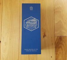 Jose Cuervo Platino silver tequila wooden collectors box Reserva de la Famalia