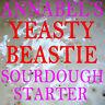 "ANNABEL'S ""YEASTY BEASTIE"" SOURDOUGH STARTER  - BREAD 50gm"