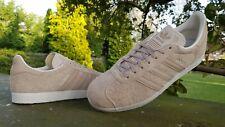 Adidas Originals Gazelle Fashion Trainers  Beige  UK 9 EU 43.3 US 9.5  Item 47