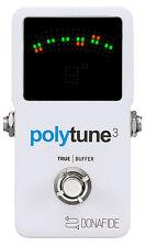 TC Electronic Polytune 3 Polyphonic Guitar Tuner With Bonafide Buffer