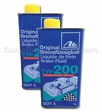 ATE Super Racing Brake Fluid DOT 4-(2x1Litre) * Special Offer *NEXT DAY DELIVERY