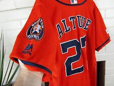 New listing Jose Altuve #27 Houston Astros Jersey Men Size 40 Medium Orange MLB Texas Stitch