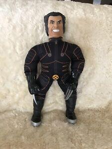 X-MEN FILM Action Figure WOLVERINE MARVEL 2000 toy NO LONGER  TALKING Large 50cm