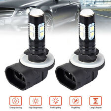 2pcs 881 100W LED Fog Driving Light DRL Bulb 862 885 889 894 White 6000K DC12V