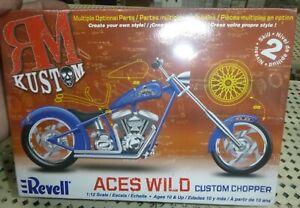 REVELL 85-7315 ACES WILD CHOPPER MOTORCYCLE KIT 1/12 Model Car Mountain FS