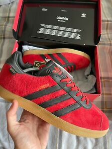 Adidas Gazelle GTX London  Rare size 9
