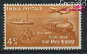 India 234 with hinge 1954 Philately (8882688