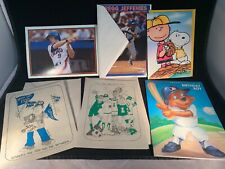 Lot Of 5 Baseball Birthday/Greeting Cards