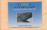 1982  Mint Coin Set Uncirculated UNC Sherwood Australia