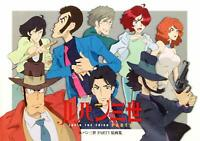 Lupin the Third PART 5 Original Picture Collection Book Japan Anime Illustration