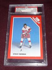 1983 Canadian Steve Yzerman Nationals Juniors Hockey PSA 9 MINT POP14 NONE ^