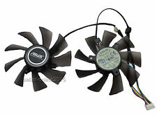 NEU Asus GTX 570 580 680 HD7950 7970 Video Card Everflow Lüfter FAN 5 Pin 95mm
