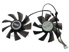 NUOVO ASUS GTX 570 580 680 hd7950 7970 video card EVERFLOW VENTOLA FAN 5 pin 95mm