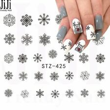 Christmas Snowflakes Nail Art Sticker Decal Decoration Manicure Water Transfer