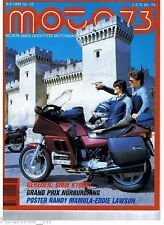 M8412 -POSTER MAMOLA & LAWSON GP, BMW K100RT