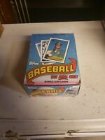 Topps 1989 Baseball Cards Wax Packs Full Box of 36 packs 15 Ea. NEW