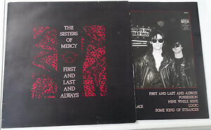 THE SISTERS OF MERCY – FIRST AND LAST AND ALWAYS   LP  ITALY  1985