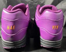Nike Air Max 1 Sz 11.5 Id Atmos Powerwall Purple pe rare lot Vintage Og