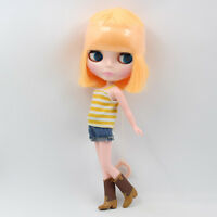 """12"""" Neo Blythe Doll from Factory Doll Orange Short Hair With Bang"""