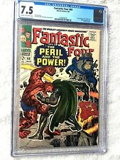 Fantastic Four #60 March 1967 Marvel CGC 7.5 Cream to Off-White pages