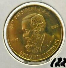 PREOWNED BENJAMIN HARRISON,#23 PRESIDENTIAL TOKEN...FREE DOMESTIC SHIPPING!!!!!