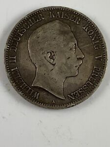 1906 A German States Prussia 5 Mark KM #523 .8038 ASW  ***NO RESERVE***