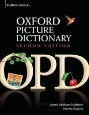 Oxford Picture Dictionary (Monolingual English) by Adelson-Goldstein, Jayme, Sh