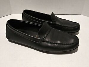 Allen Edmonds Super Sport Driver Loafers Black  Size 10D