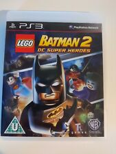 LEGO Batman 2 DC Super Heroes PS3 PlayStation 3 boxed without manual Region Free