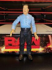 R Jim Ross WWF Jakks Titan Tron Live Wrestling Figure WWE WCW AEW Commentator
