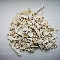 LEGO White Bricks 500g of Mixed Red Bricks Parts & Pieces Bundle Job Lot Starter