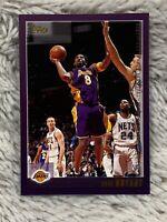2000-01 Topps Basketball Card #189 Kobe Bryant Los Angeles Lakers  ICONIC PURPLE