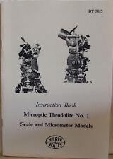 Watts No. 1 Theodolite Handbook