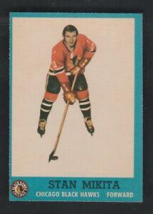 1962-63  Topps Set Break Hockey #34 Stan Mikita  NrMt