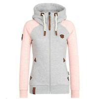 Women Coat Slim Warm Long Jacket Outwear Trench Hooded Parka Overcoat Winter