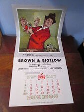 1966 Brown & Bigelow Dare Me? Gay Philosopher Advertising Calendar