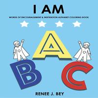 I AM: Positive Affirmations ABC Coloring Book (Autographed)