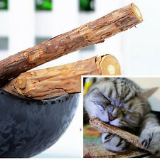 2pcs Natural Japanese Chew Stick Treat Pet Cat Toy Relaxing Wood Pet care