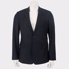 DIOR HOMME 3500$ Authentic New Black Virgin Wool Jacket With Multi Pocket Design