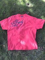 Shady Ltd Hip Hop Red Graphic T Shirt. Eminem