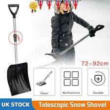 Heavy Duty Telescopic Large Snow Shovel Spade Scoop Car Home Winter Clear Shovel