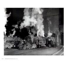 Shaffers Crossing by O. Winston Link Art Print 26x22 B/W Train Photo Poster